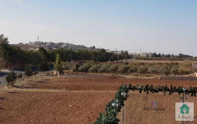 ارض 500 م في ناعور المشقر مميزة للبيع تقع على شارعين مطلة وعالية