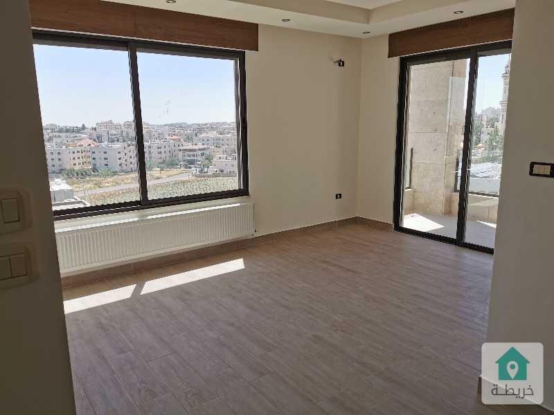شقة ارضية فاخرة جديدة للبيع في خلدا ١٨٠ م