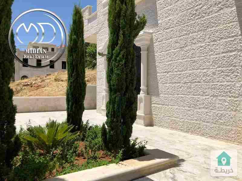 شقة ارضية جديده - فارغه للايجارعبدون السفارة السعودية - مساحة 175م مع ترس 70م .