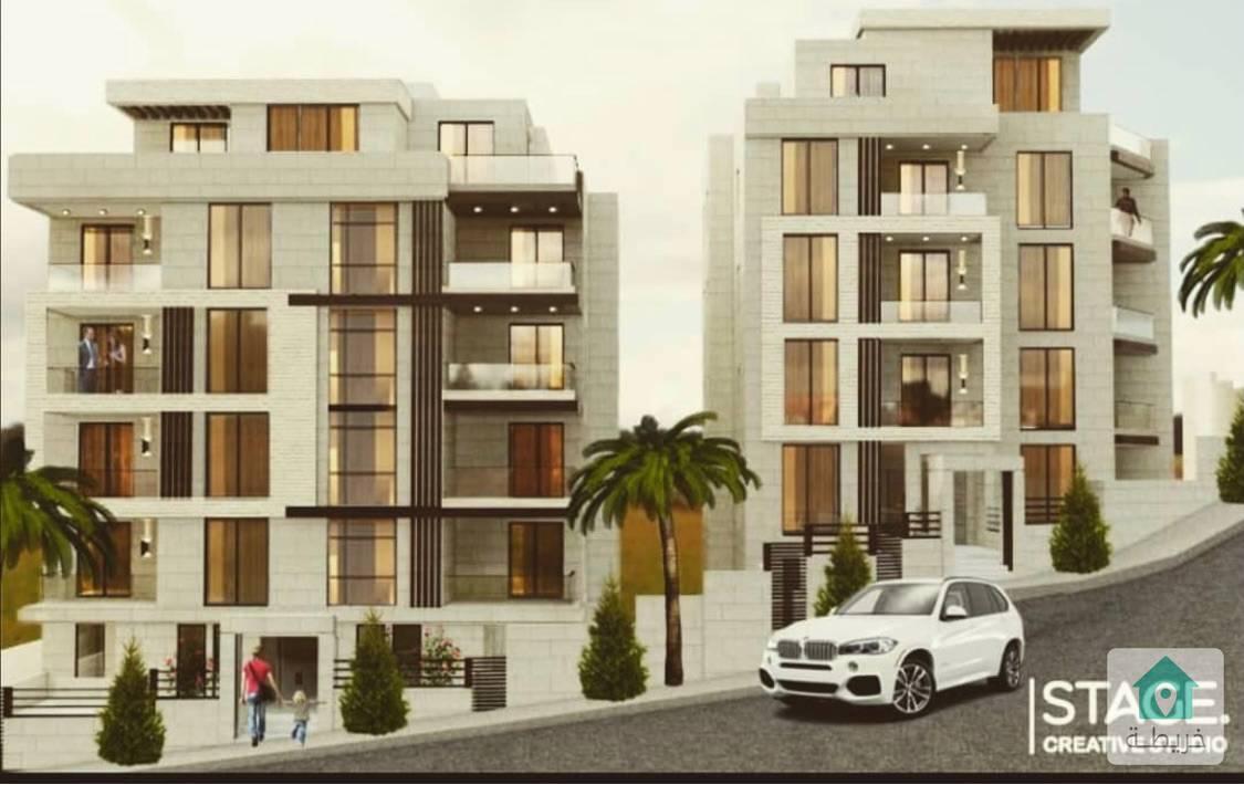 شقة طابقية مساحة ٢٥٠ متر للبيع بعبدون