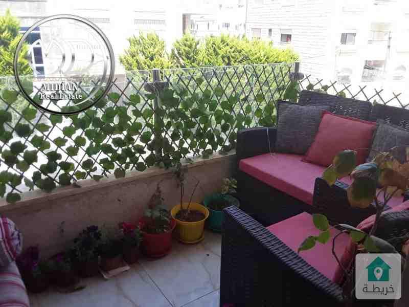 شقة فارغة للبيع - خلدا - قرب فندق زمزم مساحة 130م - طابق اول - تشطيب سوبرديلوكس .