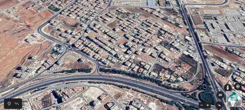 قطعة أرض في مرج الحمام الغربي للبيع سكنية (1236)