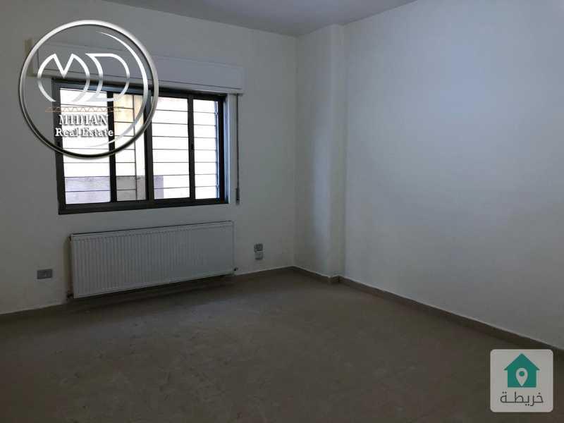 شقة شبه ارضي - فارغة للايجار - الرابية قرب الكالوتي مساحة 120م - تشطيبات سوبرديلوكس .