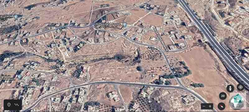 قطعة أرض في الهريج منطقة فلل (ابو نصير) 1237