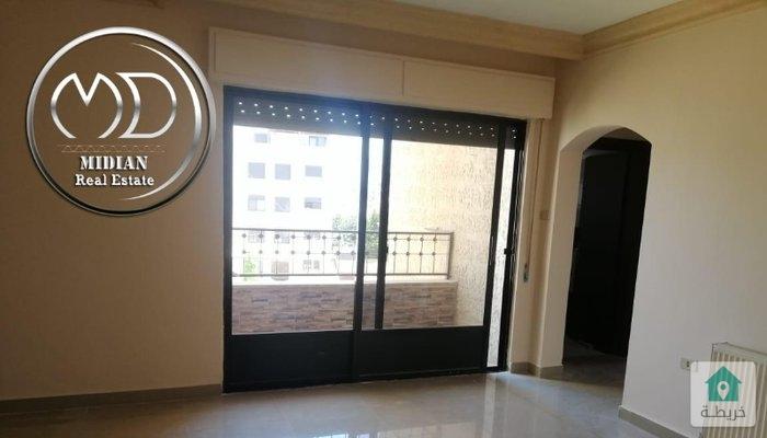 شقة فارغة للايجار ام السماق قرب دوار التلاوي مساحة 180م طابق ثاني بسعر مناسب