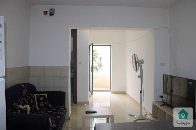 شقة مفروشة ارضية مجددة للايجار في تلاع العلي