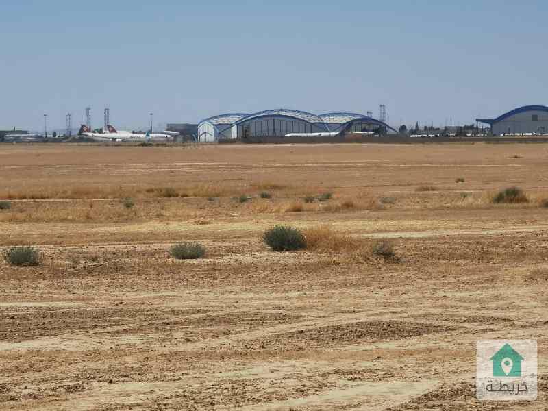 اراضي مميزه في القنيطرة للبيع تبعد 2 كيلو عن المطار الملكة علياء بالقرب من المنطقة الحرة الجديدة