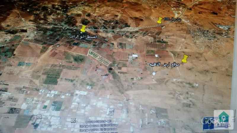 من أراضي جنوب عمان حوض خربةالذهيبه الجنوبية
