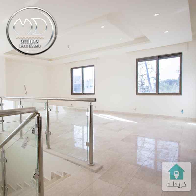 شقة دوبلكس جديده للبيع - باللويبده مساحة 220م - سوبرديلوكس  اطلالة رائعة - مع امكانية التقسيط .