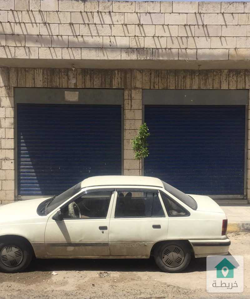 الزرقاء -حي الحسين قرب دوار انس  شارع تجاري