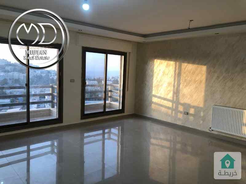 شقة فارغة للايجار -عرقوب خلدا مساحة 140م - طابق ثاني اطلالة رائعه وبسعر مناسب .