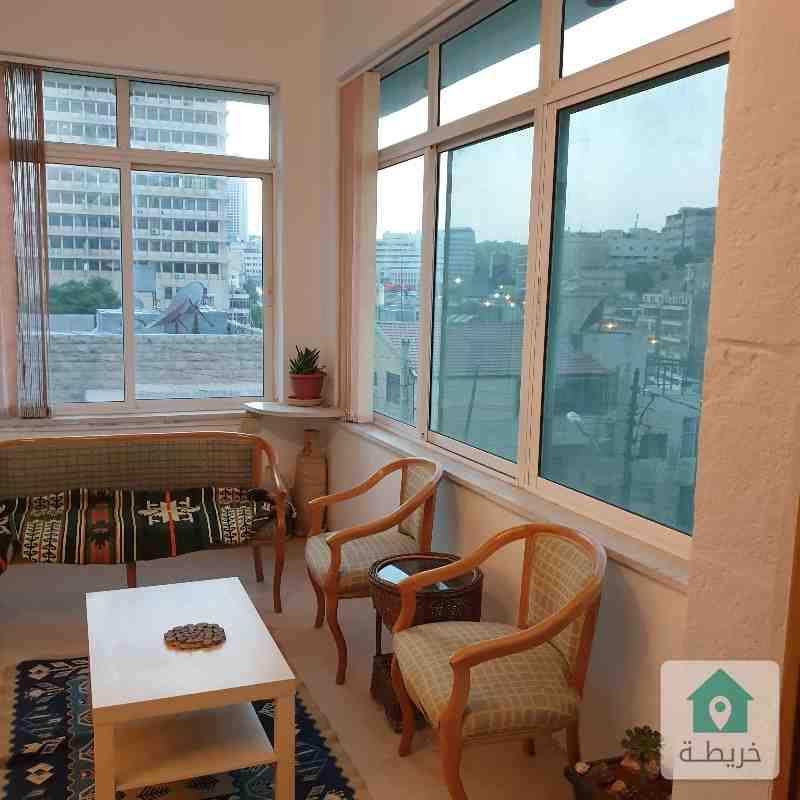 Furnished apartment for rent Jabal Al Weibdeh Amman