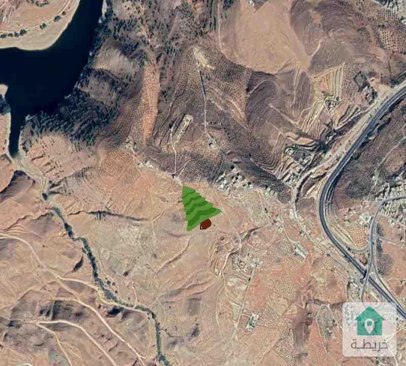 ارض للبيع قرب سد الملك طلال