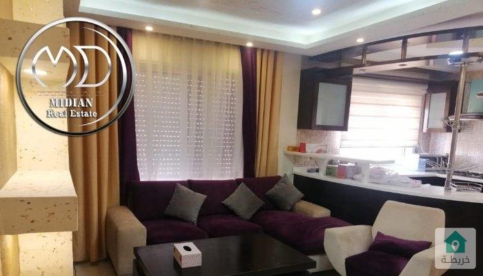 شقق مفروشة للايجار -ام السماق - خلف الدر المنثور- مساحة 120م بسعر مميز .