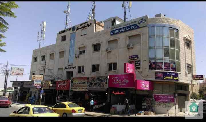محل تجاري مميز 3 أبواب مقابل باب جامعه اليرموك اربد