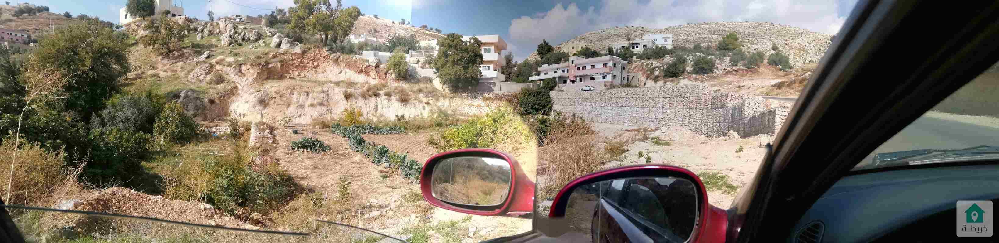 قطعه ارض في منطقه ام فروه غرب عمان وادي السير قابل للتفاوض