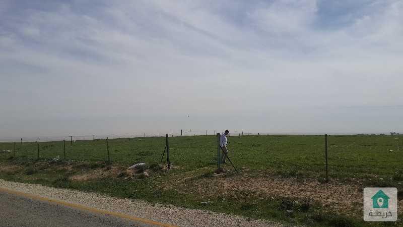 أرض زراعيه على الشارع الرئيسي الواصل بين قريتي الربه و  الجديده