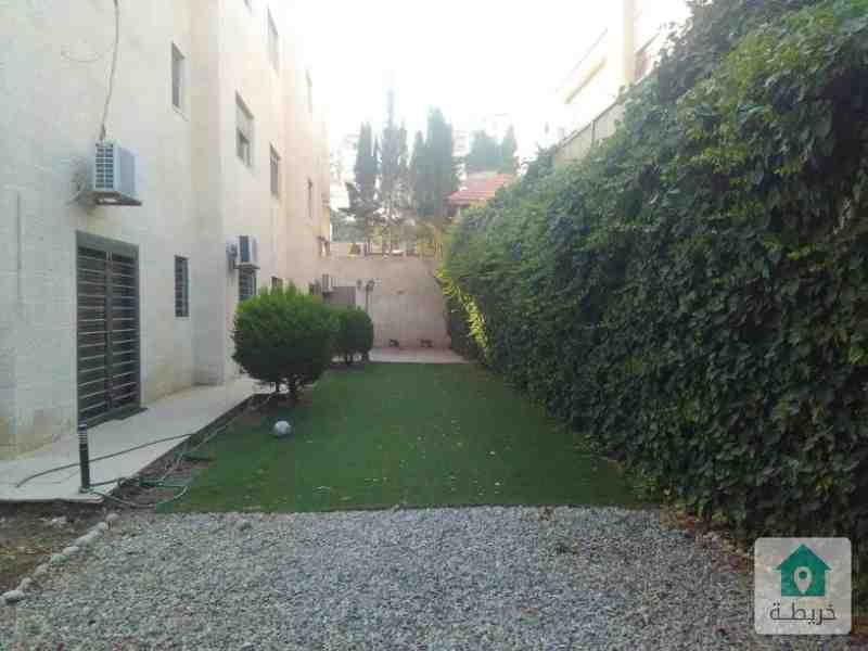 شقة ارضية 5 نوم فارغة للايجار - عبدون