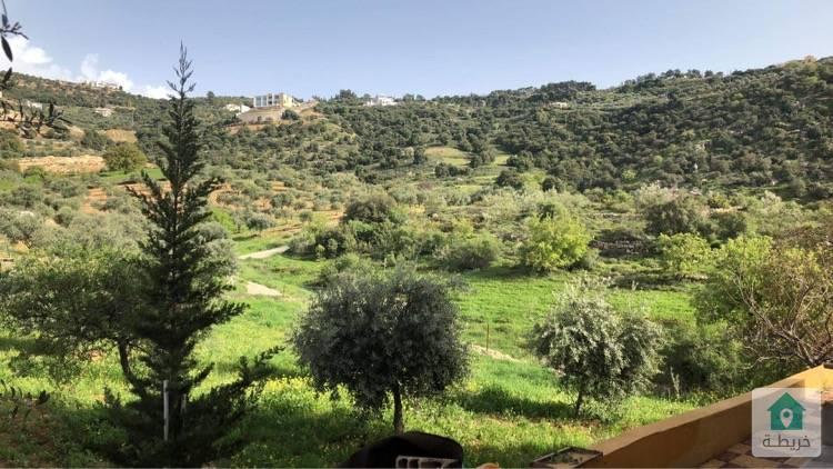 مزرعة للبيع بسعر مميز و  بإطلالة مميزة على جبال فلسطين و السلط ....