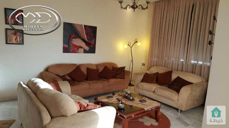 شقة فارغة للايجار ام السماق مقابل روان كيك اخير مع روف مساحة 250م تشطيب سوبر ديلوكس اطلالة رائعة
