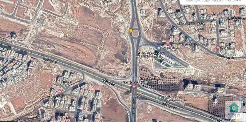 ارض للبيع قرب شارع الاردن ابو العوف تصلح لمشروع اسكاني