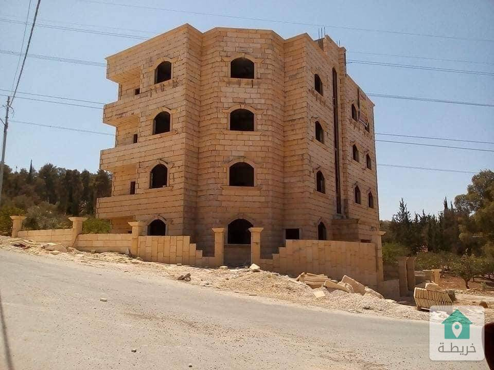 عمارة عظم ٤ طوابق و تسوية للبيع في ضاحية الأمير علي
