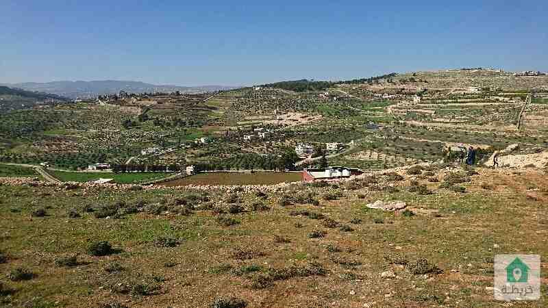 أرض مميزة للبيع طريق عمان جرش اطلاله رائعة بسعر مناسب  منطقة فلل وشاليهات