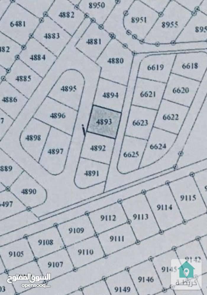 ارض للبيع في جبل المغير على شارعين منطقة سكنية هادئة