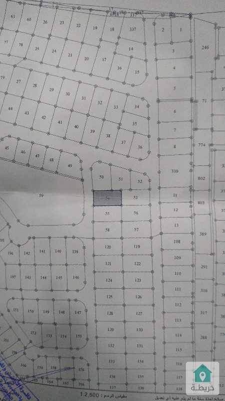 ارض شرق دوار الثقافه في محافظه اربد شارع البتراء تقع على شارع ١٢ م مميزه