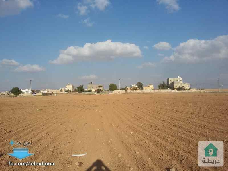 ارض للبيع في ذهيبة الشرقية/ الهاشمية - قرب مسجد أصحاب الرسول