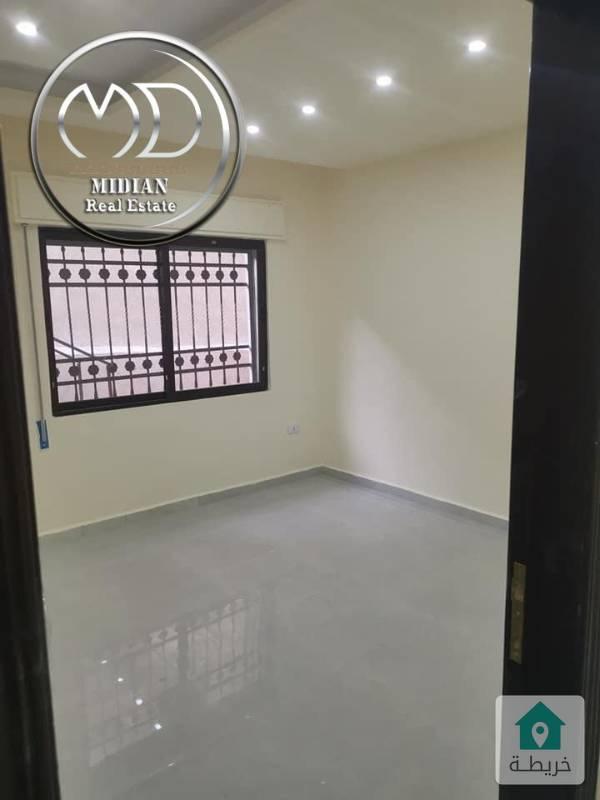 شقة شبه ارضي جديده للبيع ربوة دابوق مساحة 150م مع حديقة 100م تشطيب سوبر ديلوكس وبسعر مميز .