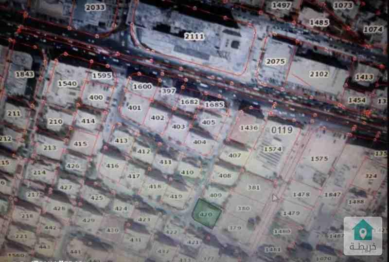 عمان-الجاردنز مميزه للبيع-ارض سكنيه 745م