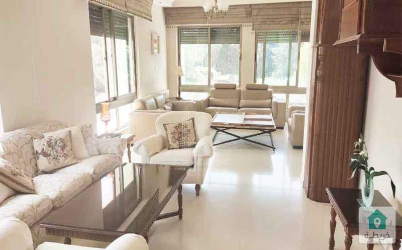شقة مفروشة للايجار في جبل عمان