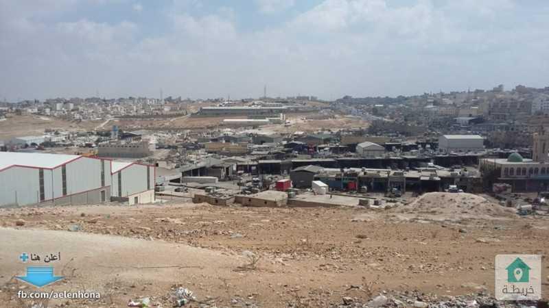 ارض صناعي للبيع في ابو علندا/ المستندة - قرب طريق الحزام