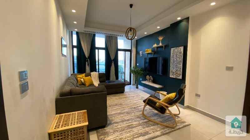 شقة فايخرة جدا للبيع في أرقى أحياء السابع (تكييف مركزي، تشطيبات عالية)