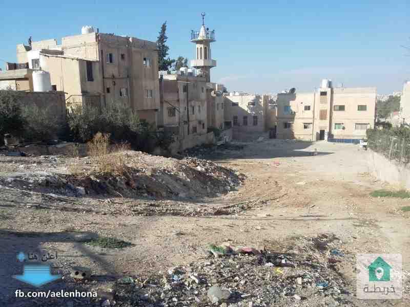 قطعتي ارض متجاورتين في راس العين/ جبل الزهور - قرب مسجد عثمان بن عفان