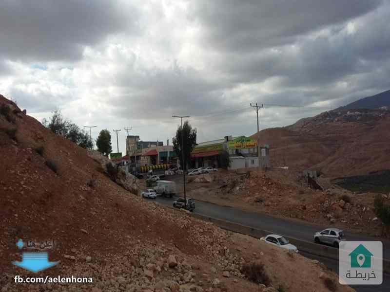 اراضي للبيع في جبه/ طريق عمان جرش - مقابل معصرة جبال جرش