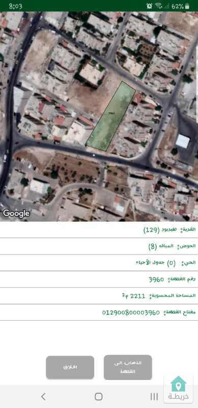 ارض مميزه للبيع حي الخزنه خلف على ٣ شوارع خلف مستشفى الملكة علياء