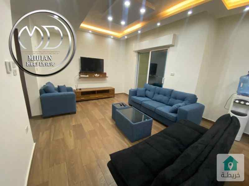 شقة مفروشة للايجار السابع قرب مشاوي عمان بمساحات مختلفة 80م وأسعار مناسبة