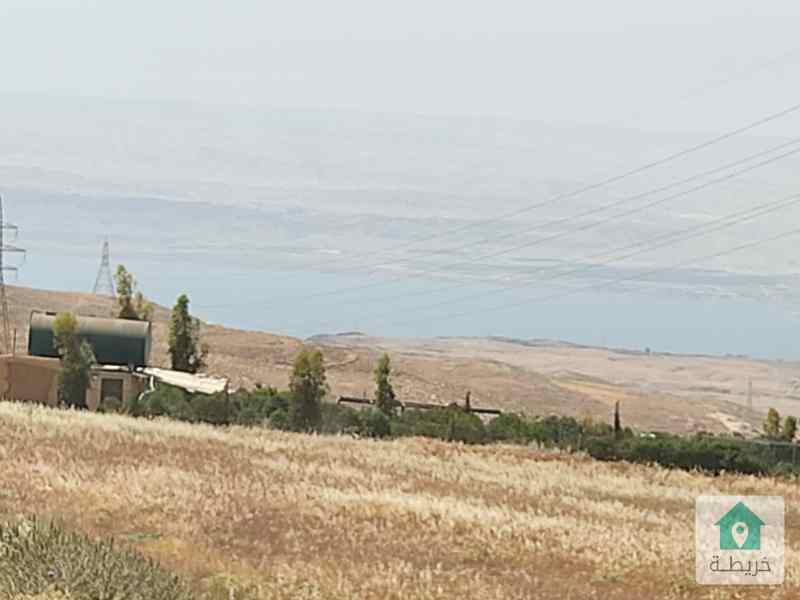 مادبا-ماعين-عيون الذيب-مطله على البحر الميت والضفه الغربيه-ارض زراعي3500م واصل جميع الخدمات