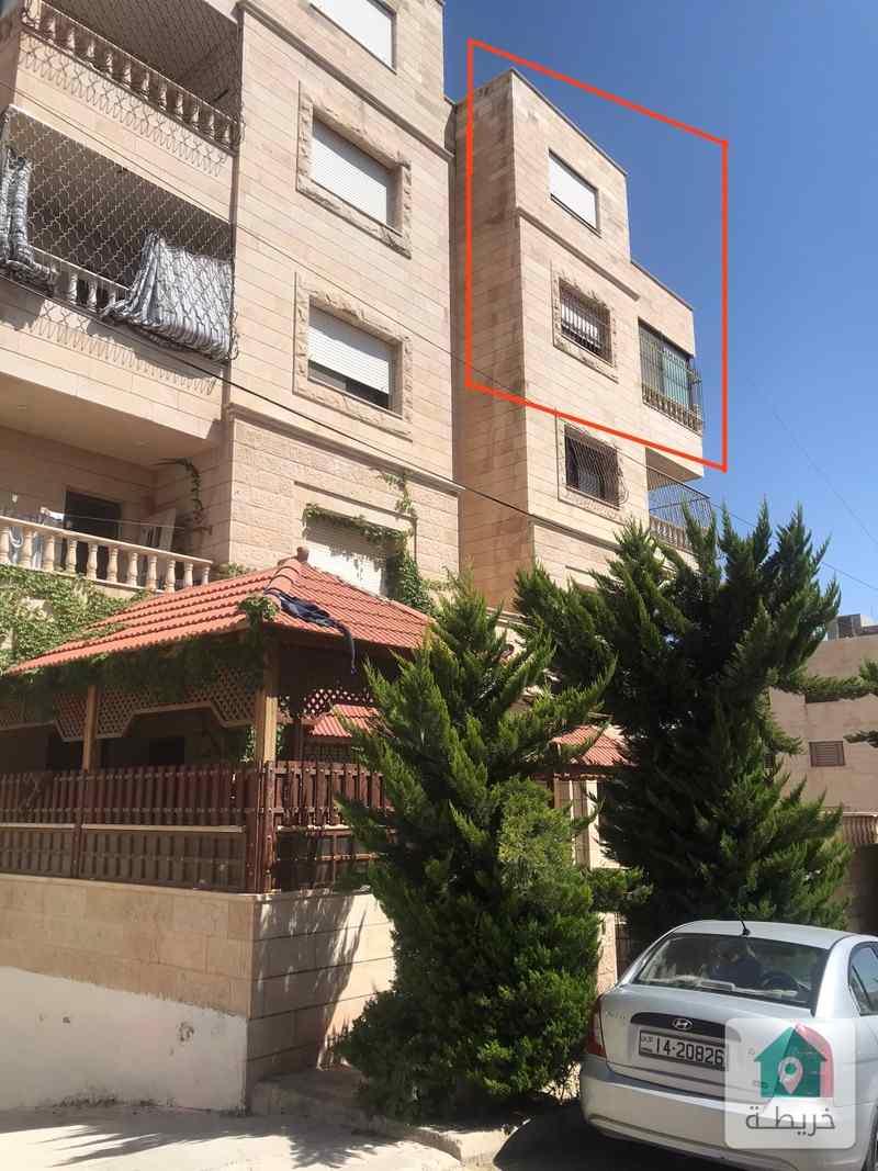 شقة سكنية للبيع بمساحة 143 متر مع 25 متر روف