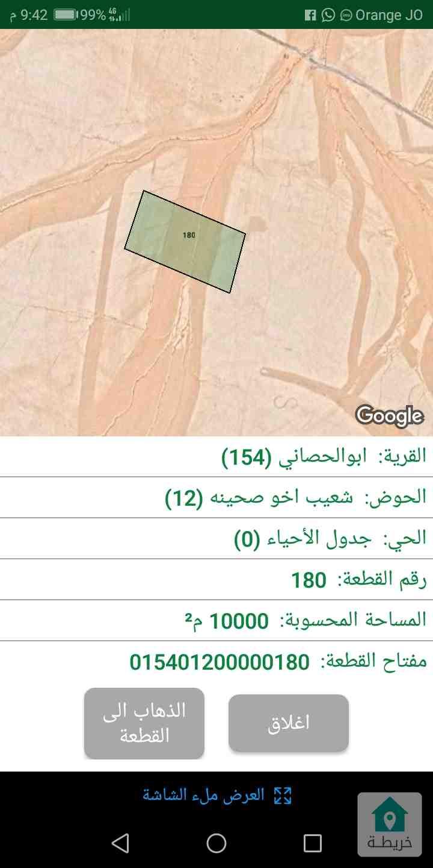 ارض للبيع عمان ابو الحصاني