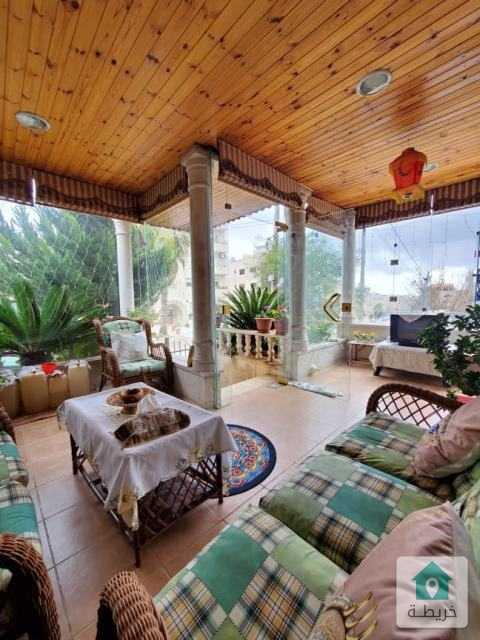 شقة أرضية مميزة للبيع مع حديقة وترسات سوبرديلوكس بسعر مغرى