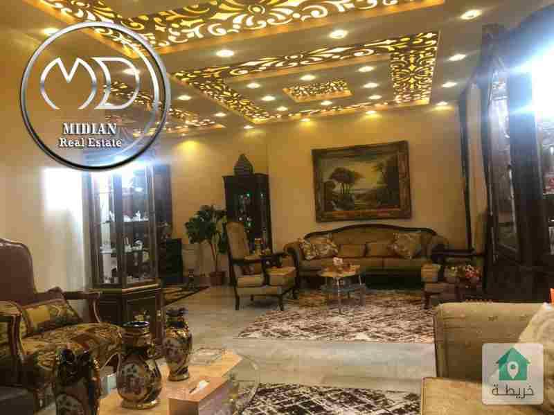 شقة فارغة للبيع ضاحية الرشيد مساحة 185م طابق اول تشطيب سوبر ديلوكس