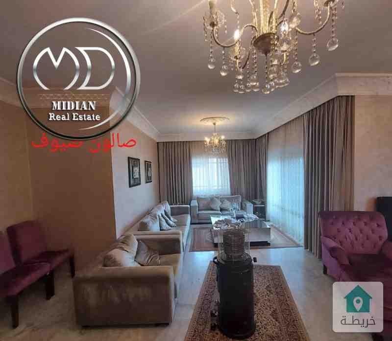شقة فارغة للبيع ام اذينة مساحة 185م طابق ثاني بسعر مميز جداً