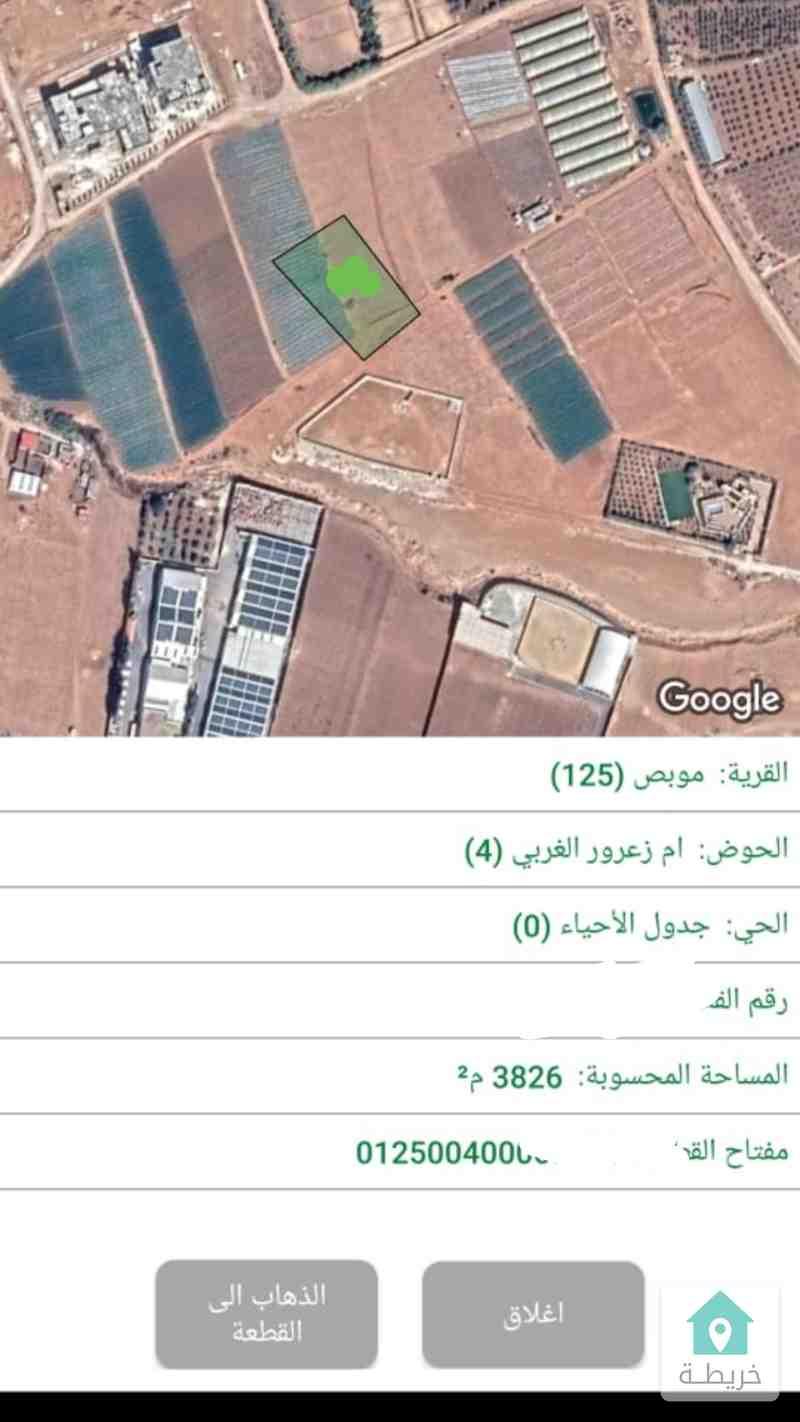 شمال عمان موبص ارض4 دنم