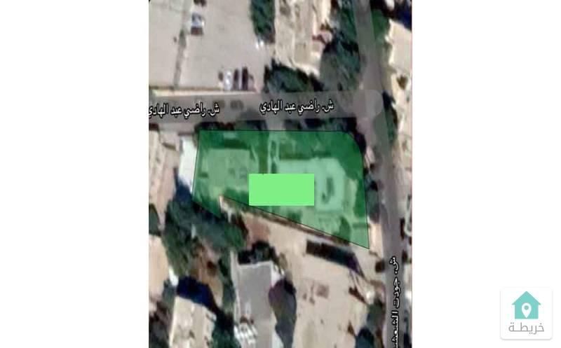 أرض للبيع في جبل عمان