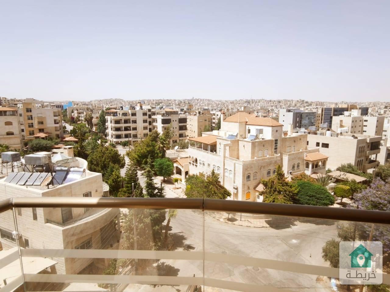 شقة مميزة للبيع في ارقى مناطق شميساني أخير مع رووف مساحة كلية 440م