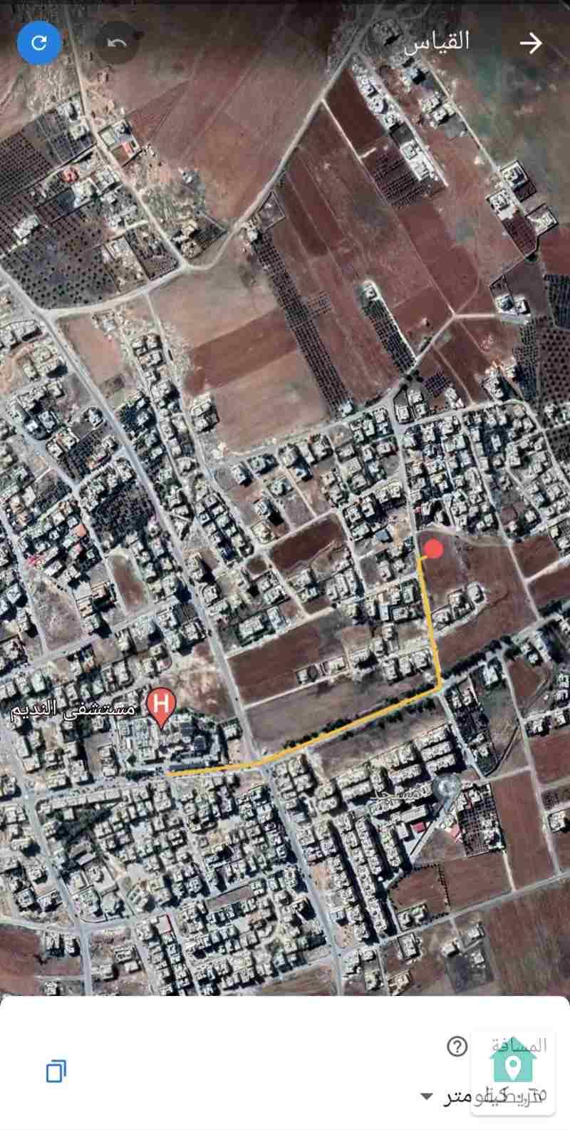 قطعة أرض سكنية مميزة للبيع بالقرب من مستشفى النديم