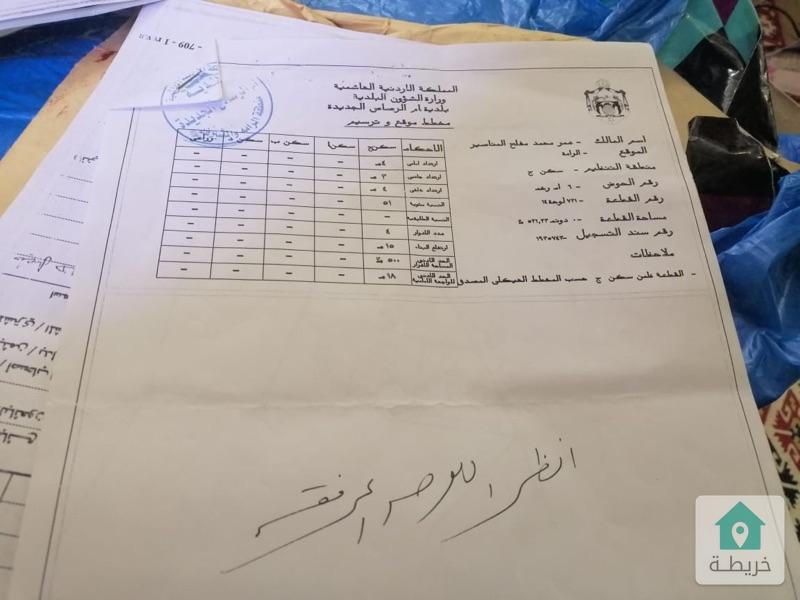 أرضين متلاصقات للبيع في الرامة-جنوب عمان